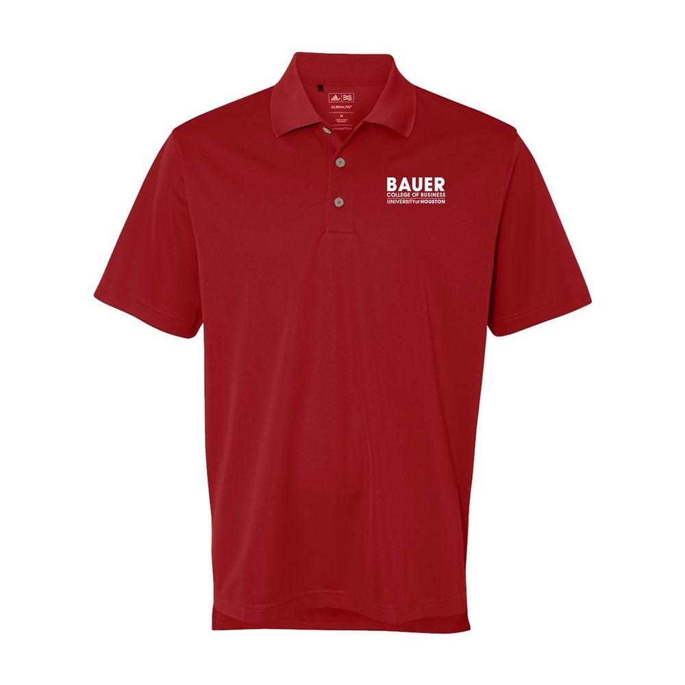 Mens Adidas Basic Sport Shirt - Power Red