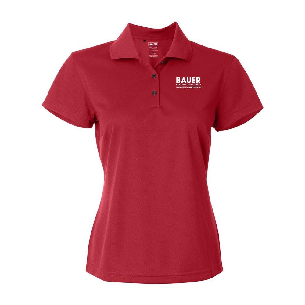 Womens Adidas Basic Sport Shirt - Power Red