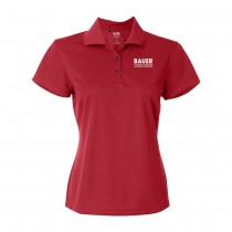 Womens Adidas Basic Sport Shirt - Power Red