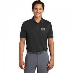 Mens Nike Golf Dri-FIT Players Modern Fit Polo - Black