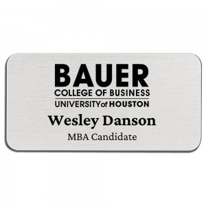 Name Badge with Magnetic Fastener