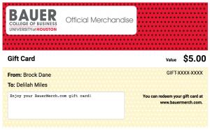 BauerMerch.com Gift Card